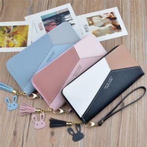 2021 Nouvelle mode sac d'embrayage téléphone mobile de grande capacité Wallet Mesdames Coin Purse Zipper Cheap Wallet