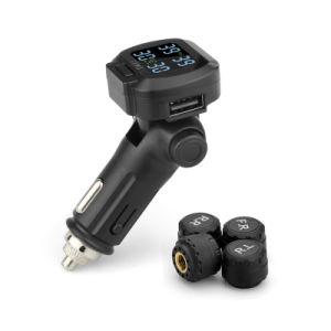 Più nuovo sistema di controllo di pressione di gomma 2018 TPMS con visualizzazione mobile e la porta di carico del USB