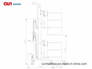 V形油圧運送者ベストセラー450kgはスケールDtf450c-1が付いているペダルを踏んだ