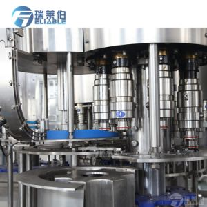 certificado CE garrafa plástica automática máquina de enchimento de líquido de Água