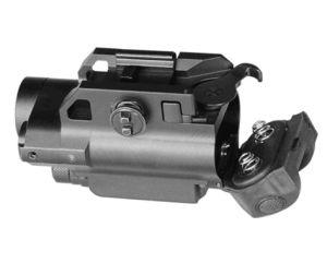 3-en-1 táctico Combo de interruptor magnético rojo Vista láser y linterna LED Pistola con cámara HD