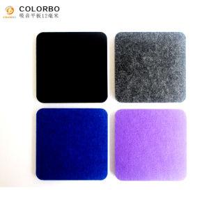 Preiswertes Polyester-Faser-akustisches Panel