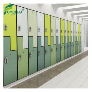 De compacte Gelamineerde Kast van de Opslag van de School HPL