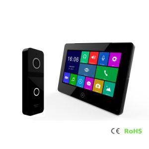 HDのタッチ画面ビデオドアの電話システムの通話装置7インチのホームセキュリティーの
