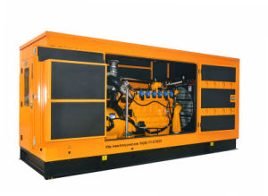 3 Phase Googol leiser 400kw 500kVA Erdgas-Generator