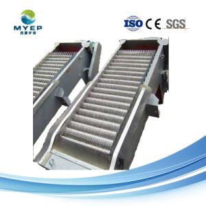 Tela da barra de mecânica para instalações de tratamento de águas residuais