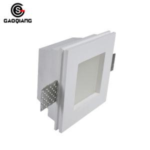 Montado en el cuadrado de superficie de yeso en yeso de la luz LED lámpara de techo para el hogar Gqd2004