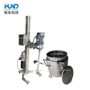 Serbatoio mescolantesi dell'acciaio inossidabile del riscaldamento di vuoto liquido elettrico rivestito dell'agitatore