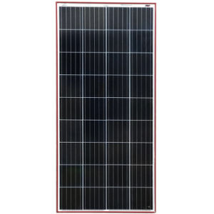Poly 150W ZonnePV Module voor het Systeem van de ZonneMacht van het Huis van gelijkstroom 12V