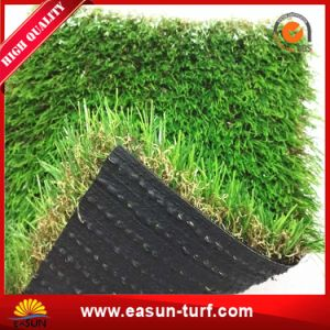 Abbellimento del tappeto erboso artificiale poco costoso con protezione verde per il giardino