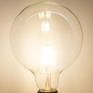 Birne der Weihnachtsbeleuchtung-6watts E27 E26 G125 des Heizfaden-LED
