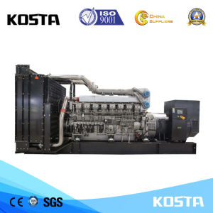 Kosta Power 688kVA Groupe électrogène diesel électrique avec moteur Mitsubishi S6r2-ATP-C