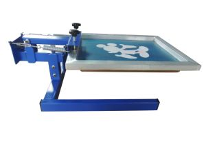 Singola macchina da stampa della matrice per serigrafia di Digitahi della tessile della maglietta di colore