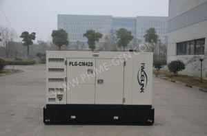 38kVA Cummins schielt schalldichtes Dieselgenerator-Set mit Ce/ISO an