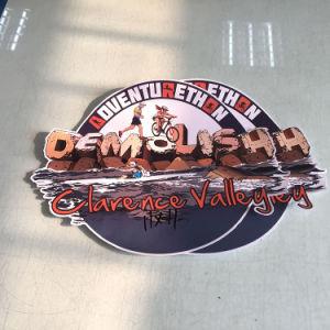 壁のステッカーの装飾的なステッカーは図形を広告する印刷された壁を卸し売りする