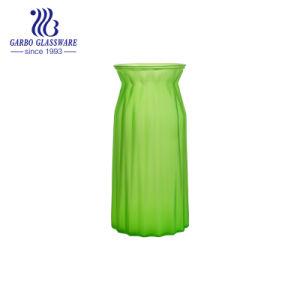 緑花のガラスつぼGB1572j/P