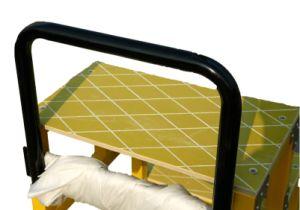 220kv étape tabourets en fibre de verre jaune