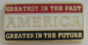 2018新しい到着の金属のスタンプの真鍮の金張りの市民のバッジの折りえりPin (209)