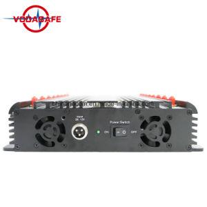 42W стационарный Jammer valve/блокировки всплывающих окон 16 антенны мобильного телефона в диапазоне ОВЧ и УВЧ, GPS и сигналов пульта дистанционного управления перепускной