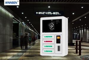 4 Tür-Münzen-Anmerkungs-Handy-Aufladeeinheits-Station