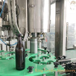 Riga di riempimento della macchina imballatrice della bottiglia di vetro della bevanda gassosa automatica della birra