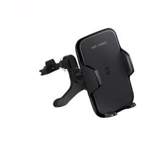 La fantasía de carga cargador de teléfono inalámbrico de rápido montaje para el coche para iPhone/Samsung