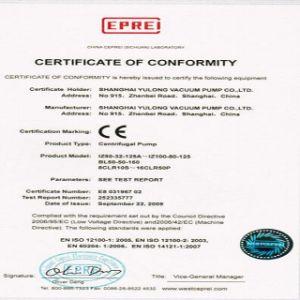 Iz65-50-130 7,5 kw seul stade de la pompe à eau centrifuge