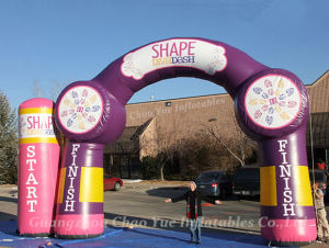 Wholesale (CY-M2123)のための高品質Durable Wholesale Rainbow Inflatable Arch