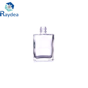 rechteckige Glasflasche 15ml für Nagellack