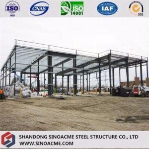 Estructura de metal prefabricados arrojar
