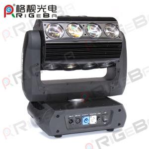 El diseño más reciente de 16*25W RGBW 4en1 Sharpy de alta potencia de 360 luces LED de luz en movimiento de rodillo