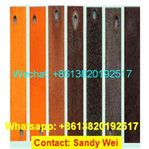 Lamiera di acciaio 2017 A588/A242/S355/piatto/bobina/nastro/tubo poco costosi Corten un acciaio di alterazione causata dagli agenti atmosferici