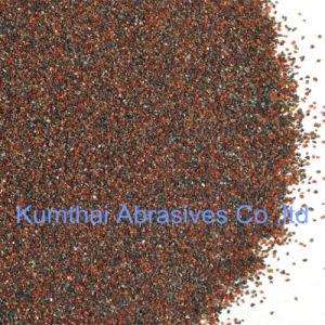 Het natuurlijke Roodbruine Schuurmiddel van het Zand van de Granaat voor het Vernietigen van Waterjet Knipsel