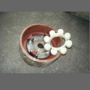 주문을 받아서 만들어진 주조된 백색 니트릴 고무 밧줄 고리