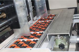 Automatisches gewölbtes Flexo Drucken u. kerbende u. stempelschneidene Maschine
