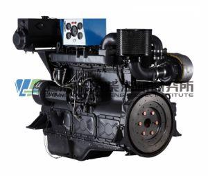 Mariene Motor, 135 Reeksen, 118.8kw, 4-slag, Met water gekoelde, Directe Injectie, Gealigneerd, de Dieselmotor van Shanghai Dongfeng voor de Reeks van de Generator, Motor Dongfeng