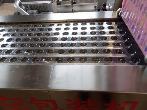 Dzr-320 Sauced automatique Machine d'emballage sous vide d'oeufs
