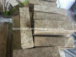 Tipo y color blanco de mármol, piedra cortada, baldosas de mármol blanco Volakas
