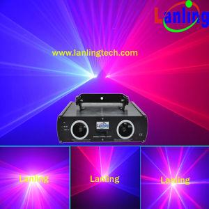 Двойная красная и синяя лазерное шоу света (L2461)