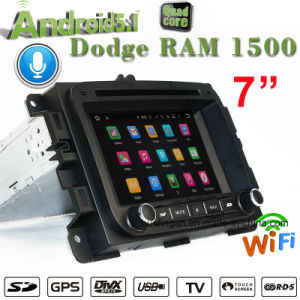 Android Carplay 7.1/1.6 GHz DVD carro GPS para Dodge Ram 1500 Car Audio Player