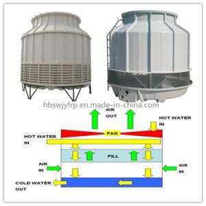 De ronde Industriële Koelere Toren van de Waterkoeling FRP