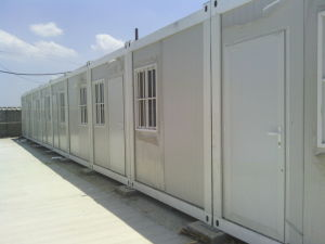 Bequemes Behälter-Lager für kleine Schlafzimmer in Niger