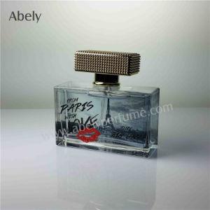 Bouteille de parfum Decaled de marche arrière pour l'ouest du parfum