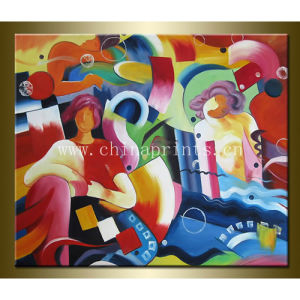 Abstract Olieverfschilderij voor de Decoratie van het Huis