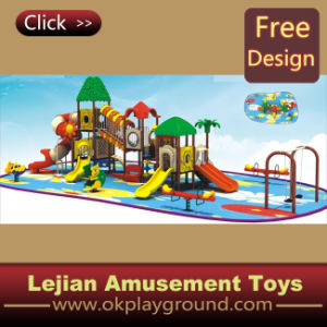 En1176 Simple Design para Children Outdoor Plastic Playground (12090A)