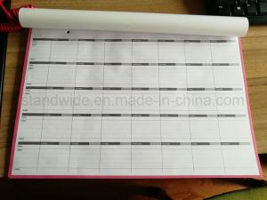 Almofada de mesa/parede magnéticos, Notas do planejador Mensal