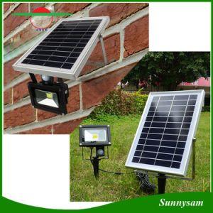 Solarflut-Licht des im Freien Garten-10W mit PIR Bewegungs-Fühler