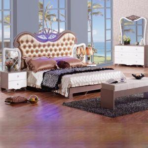 Chambre à coucher avec lit King Size Set de meubles et du Cabinet ...