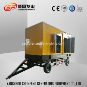 Dieselgenerator des Schlussteil-leiser elektrischen Strom-100kVA mit Cummins Engine
