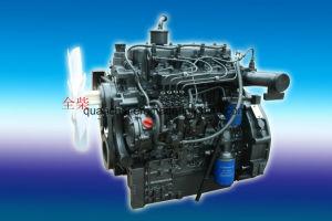 Gebruikte de tractor, Water koelde 2400rpm, 50HP de Dieselmotor van de Reeks van QC498t